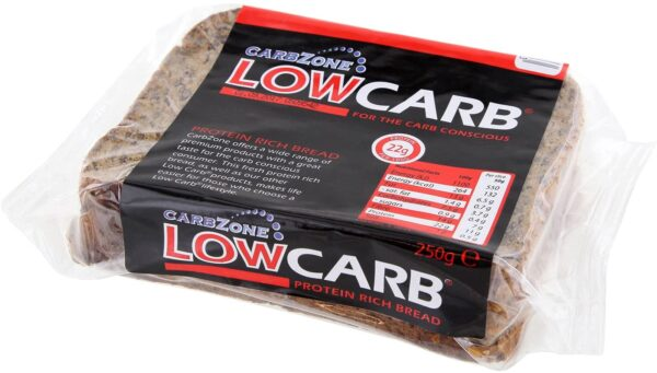 Carbzone Low Carb Protein Bread 250g (Pack of 3)