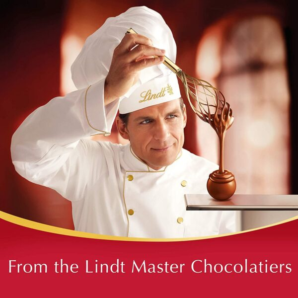 Lindt Lindor Milk Chocolate Truffles Box - Approx. 26 Balls, 337 g - Perfect for Gifting or Sharing - Chocolate Balls with a Smooth Melting Filling
