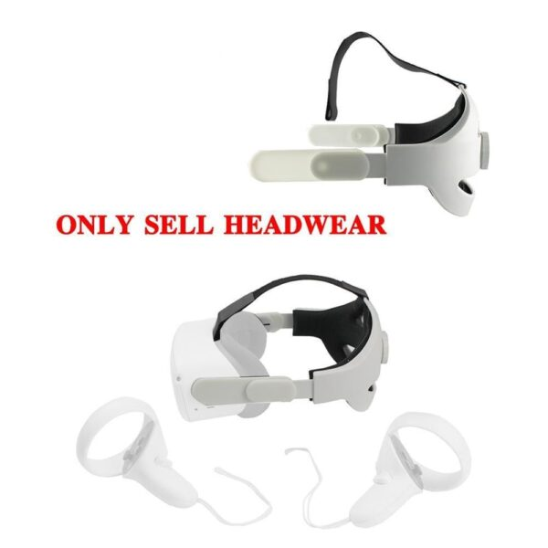Adjustable for Oculus Quest 2 Head Strap VR elite strap,Increase Supporting forcesupport improve Comfort Virtual Reality Access