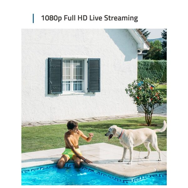 eufy Security eufyCam 2 Wireless Home Security Camera System, 365-Day Battery Life, HomeKit Compatibility, HD 1080p, IP67