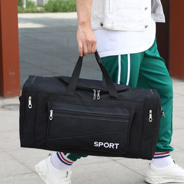 Oxford Casual Travel Bag Waterproof Men's Travel Bags Weekend Multi-pocket Large Carry On Luggage Bag For Male Travelling