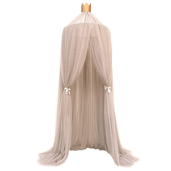 Mosquito Net with FREE Stars Hanging Tent Baby Bed Crib Canopy Tulle Curtains for Bedroom Play House Tent for Children Kids Room
