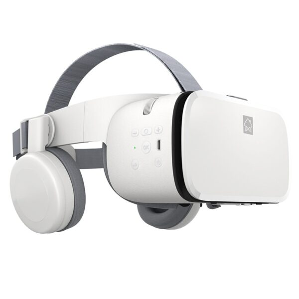 Original Virtual Reality VR 3D Stereo Wireless Video Glasses Bluetooth Headset Helmet For Android IOS Samsung For Xiaomi Huawei