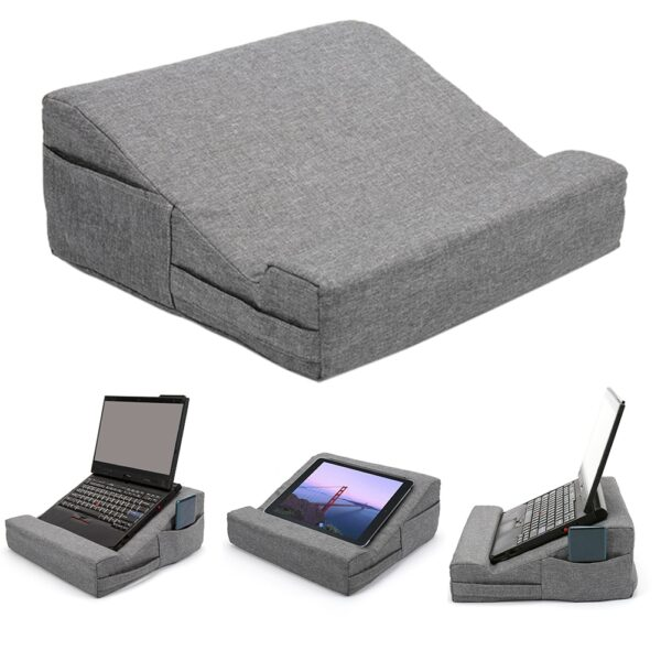 Book Reading Home Laptop Stand Gift Non Slip Easy Use Solid Multifunctional Holder Accessory Cushion Support Tablet Pillow Rest