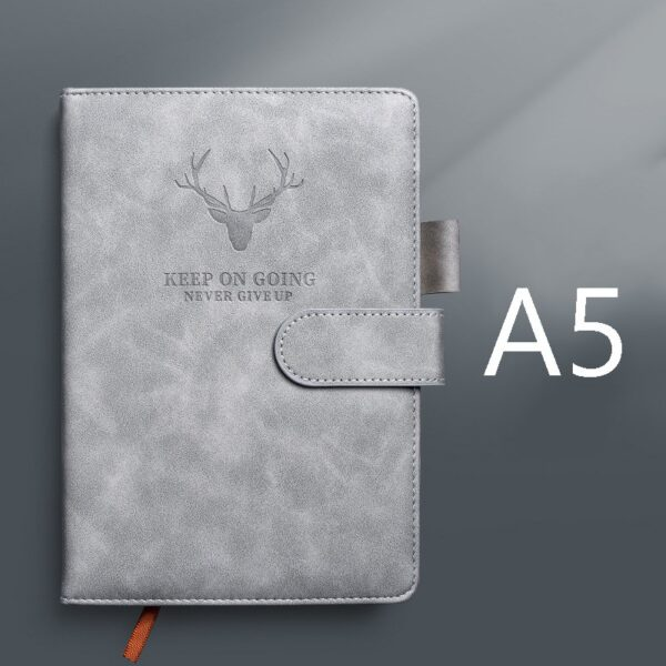 360 Pages Super Thick Wax Sense Leather A5 Journal Notebook Daily Business Office Work Notebooks Notepad Diary School Supplies