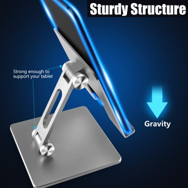 Tablet Stand Adjustable Folding Holder For Xiaomi Mi Pad 4 Samsung iPad Pro Air Mini 12.9 11 10.2 10.9 10.5 Support Accessories