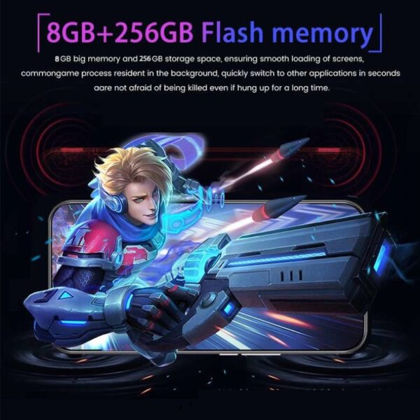 Smartphones P40 Pro 4G-LTE Android 9.0 8GB+256GB MT6595 Water Drop Cheap Cellphone Face ID Full Screen unlock Mobile phones