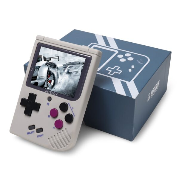 New BittBoy - Version3.5 - Retro Video Game Handheld Games Console Player Progress Save/Load Micro SD card External