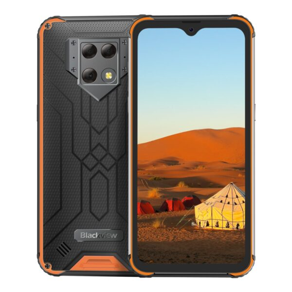 """Blackview BV9800 Helio P70 Android 9.0 6GB+128GB Smartphone 48MP Rear Camera IP68 Waterproof 6580mAh 6.3"""" FHD Mobile Phone"""