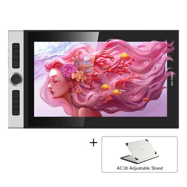 XP-Pen Innovator 16 15.6 inch Graphics Tablet Graphics display Drawing Board Monitor 88% NTSC with a battery-free stylus Tilt