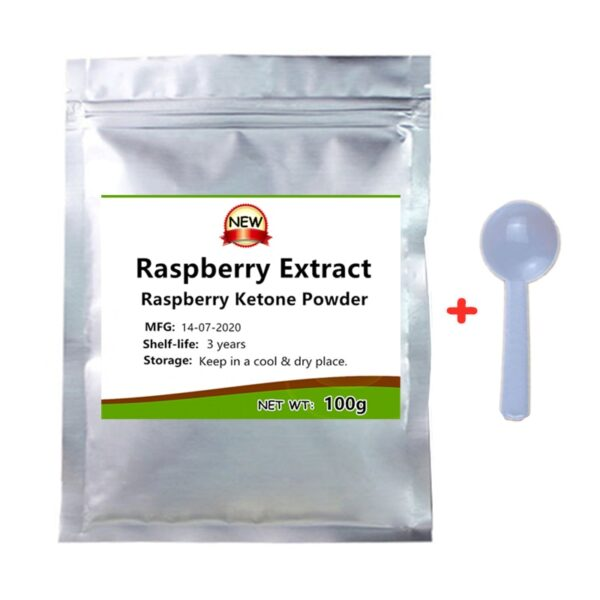 Weight Loss Supplement, Raspberry Extract Raspberry Ketone Powder,support Heart and Blood Health Funtion,Burn Fat, Reduce Weight