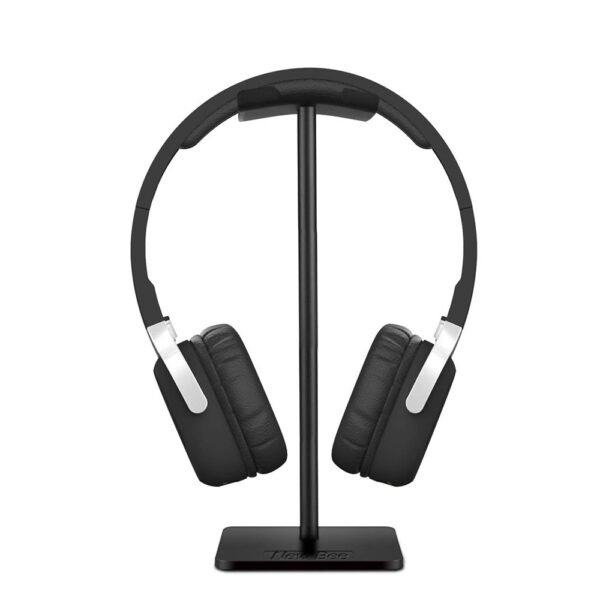 Headphone Stand Headset Holder Aluminum Supporting Bar Flexible Headrest ABS Solid Base for Bose QC15 QC25 QC35 700 Headphones