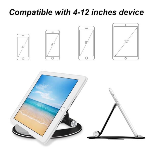 Bed Desk Holder Stand for The Tablet Support for iPad Xiaomi Mi Pad 4 Samsung Tab 3 Universal Accessories Metal Adjustable Angle