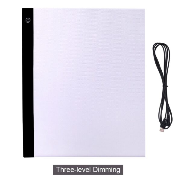 CHIPAL Digital A3 Drawing Tablet LED Light Box Tracing Copy Board Graphic Tablets Art Painting Writing Pad Sketching Animation