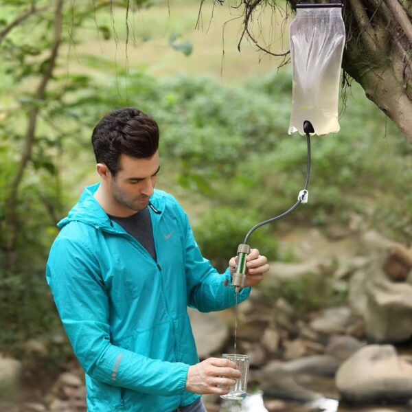 miniwell outdoor water filter Gravity Water Filter System for hiking,camping,survival and travel