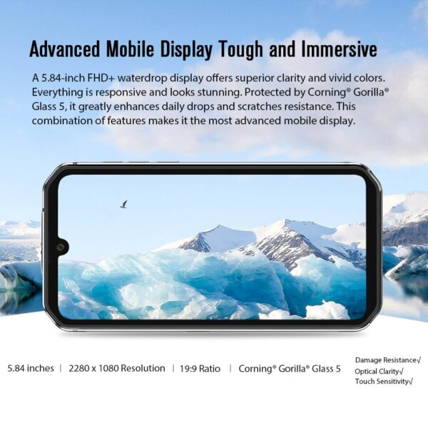 Blackview BV9900E Helio P90 Rugged Smartphone 6GB+128GB IP68 Waterproof 4380mAh 48MP Camera NFC Android 10 Mobile Phone