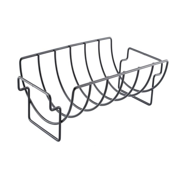 ONEUP Non-Stick Rib Shelf BBQ 2020 Stand Barbecue Roast Rack Stainless Steel Grilling BBQ Chicken Beef Ribs Rack Grilling baske