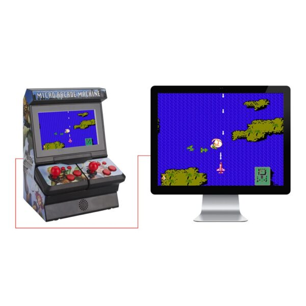 8Bit 4.3inch TFT Portable Mini Retro Classic Wireless Handheld Game Console Micro Arcade Station Built-in 300 Games TV Output